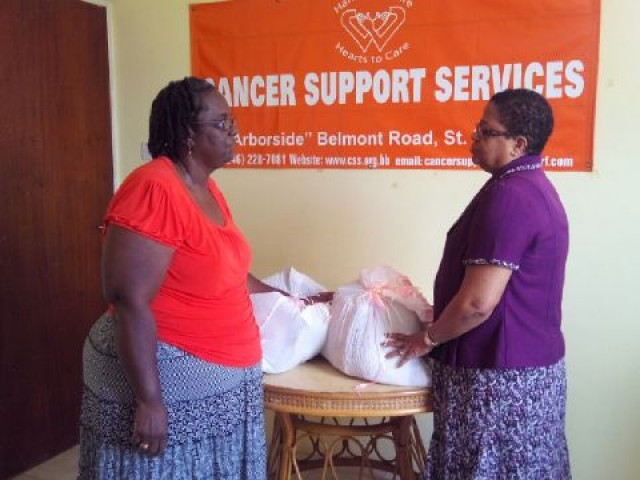 CARE PACKAGE DELIVERY - CANCER SUPPORT SERVICES BARBADOS